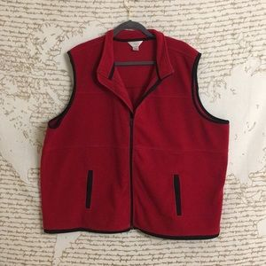 CJ Banks Fleece Vest
